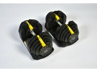 Brand-New 5-40Kg Adjustable Dumbbells not Bowflex Weights Gym Fitness Exercise!!!!