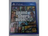 Grand theft auto 5 GTA 5 ps4 brand new sealed
