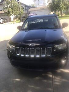2015 black Jeep Compass