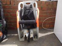 Rhode Gear child's rear mounted bike seat