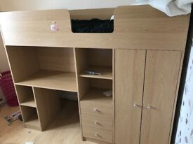 Cabin bed only 6 months old