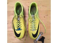 Nike Mercurial Football boots, size 8. Barely used, good condition.
