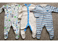 Baby boys clothes - First size and 0 - 3 m
