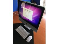 """Upgraded Excellent Apple 20"""" iMac with fast 128GB SSD, intel 2.4Ghz 2 gb RAM"""