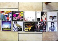 20 X RECENT AND OLDER CD'S - MIXED ROCK AND POP ETC