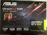 GTX 650 graphics card