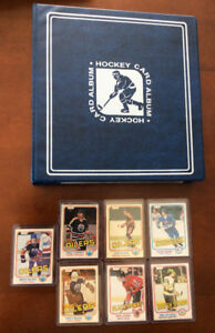 Set complet Nr.Mint! 396 cartes de hockey vintage OPC 1981-1982