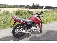 Yamaha YBR 125cc 2010