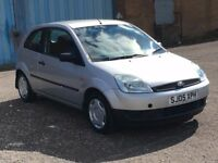 2005 Ford FIESTA 1.2 , mot - April 2018 , service history , 3 owners ,corsa,clio,punto,polo,jazz,207