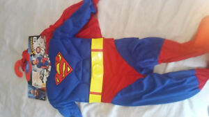 Superman costume worn only once size 2-4