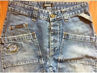 MENS 'DOLCE & GABBANA' Jeans W30 L34 Loose Fit Metal Button Fly