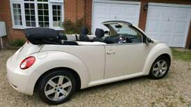 VW Beetle 1.6 Convertible