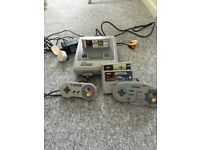 Super nintendo bundle snes