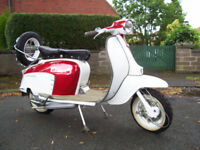Lambretta Scooter 150 1971 Li (Spanish)