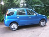 2004 SUZUKI IGNIS 4 GRIP 1.5 VVT GLX 5 Door, 4 Wheel Drive, Low Miles
