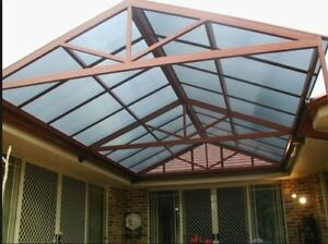 Twinwall 6,8,10,16 mm polycarbonate panels with UV protect