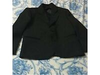 Boy black suit 3 pcs size 4/6