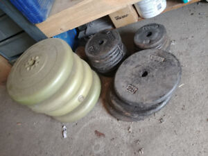 STEEL LIFTING WEIGHT PLATES and more