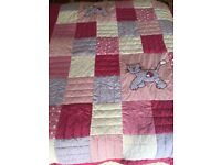 Next Girls Quilted Throw for Single Bed