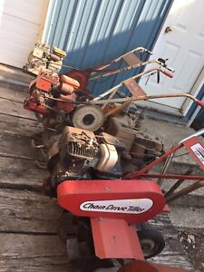 Rotor tillers and lawn mowers