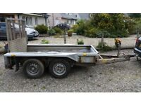 Ifor Williams GX84 Plant Trailer
