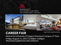 Career Fair - August 11, 2017 from 2:00 PM to 6:00 PM