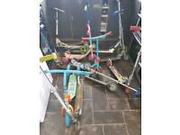 Large selection of kids scooters for sale