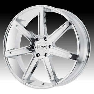 "20"" Wheel Silverado Sierra Tahoe Yukon Escalade 20 Chrome Rims"