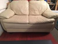 Leather 2 seater couch (free)
