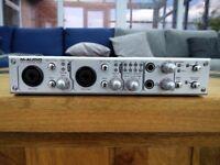 M-Audio Firewire FW410 410 Audio Interface 4 In 10 Out MIDI Mac PC