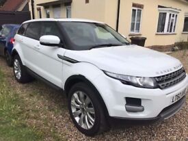 2012 Land Rover Range Rover Evoque 2.2 SD4 Pure 4x4 5dr White
