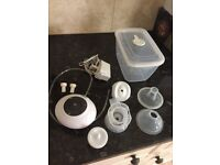 Tommee Tippee closer to nature breast pump with extras (hardly used)