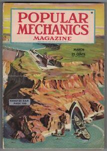 1946, POPULAR MECHANICS, 304 PAGES ILLUSTRÉES, HARLEY DAVIDSON