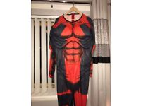 Deadpool costume size Xl