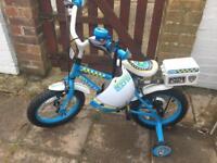 Police themed children's bike.