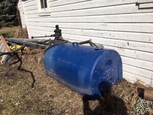 500 litre hand pump Tidy Tank diesel cube