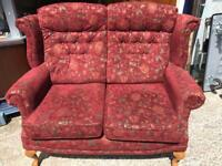 Parker knoll 2 seater sofa FREE DELIVERY PLYMOUTH AREA