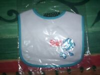 Babies Bib and Dummy - Brand new in packaging