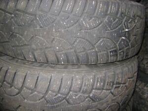 225/60/17 winter tires set of 4