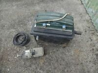Pond pump and filter kit