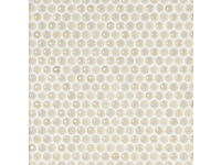Saloni Mosaic Modulo Disk Beige 30x30 - WAREHOUSE CLEARANCE - TOTAL BARGAIN!