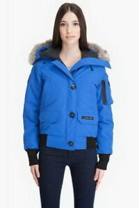 Canada Goose Women Chilliwack Bomber Purplish Blue