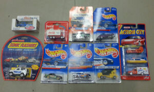 Bundle of 10 vintage cars including Hotwheels and Matchbox