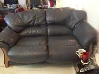 2 free leather sofas