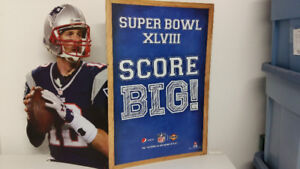 TOM BRADY SUPERBOWL CUTOUT