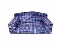TARTAN - PET SOFA. Cat & Dog Couch. Waterproof Animal Settee Impermeabe Bedstead