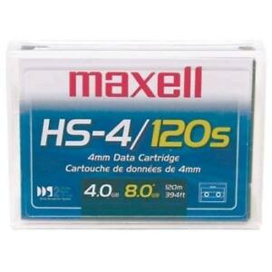 Maxell HS-4/120s 4mm Data Cartridge and some other items-Lot $5