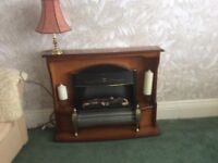 Fire surround place small electric fire