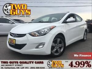 2013 Hyundai Elantra GLS SUNROOF ALLOYS HTD SEATS