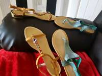 Ladies sandals 2 size 41 brand new with box
